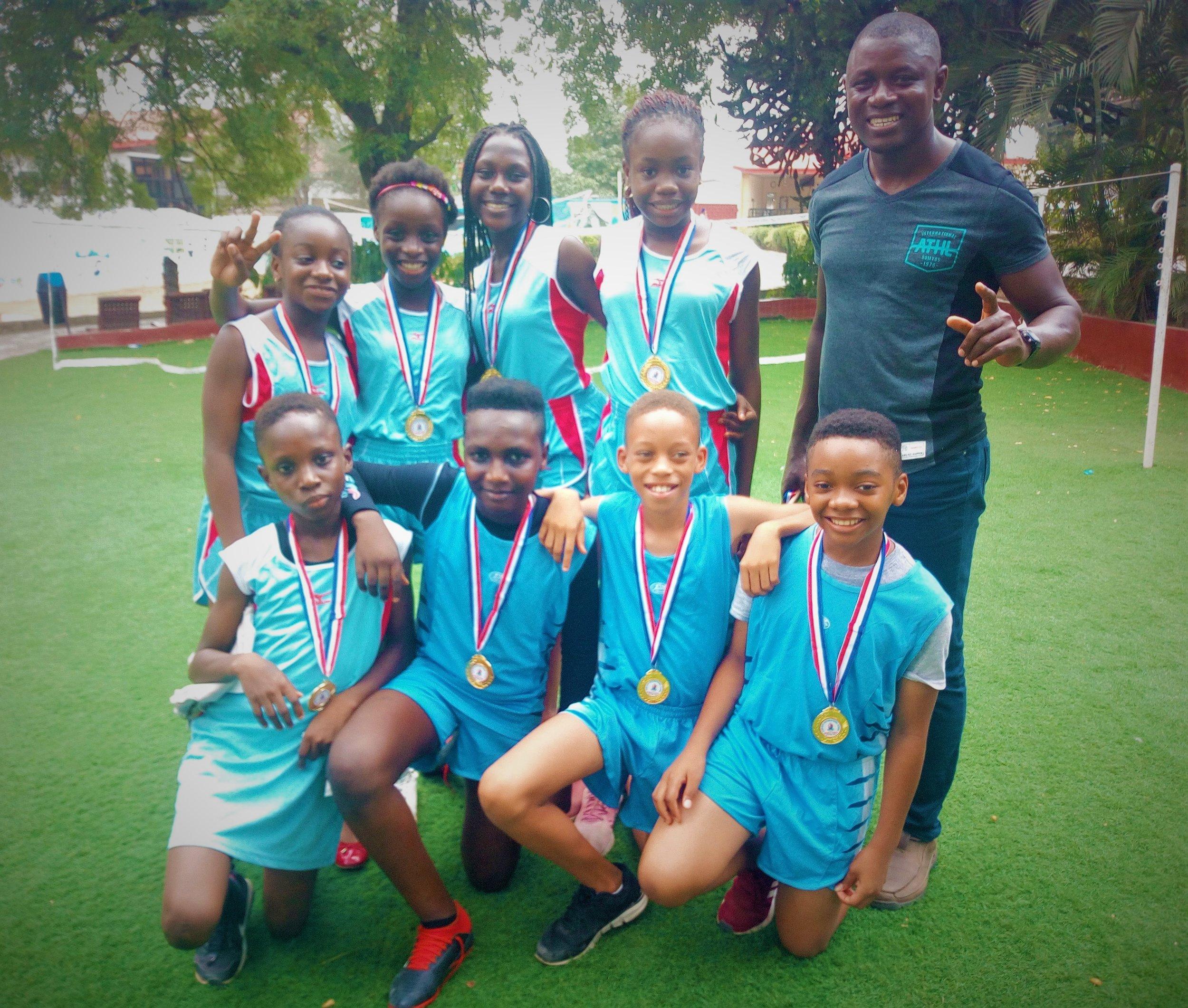 ACA Middle School Track Team