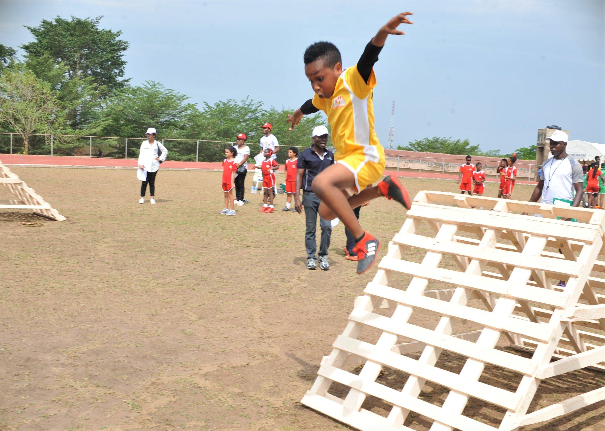 ACA Sport Daze Obstacle Course