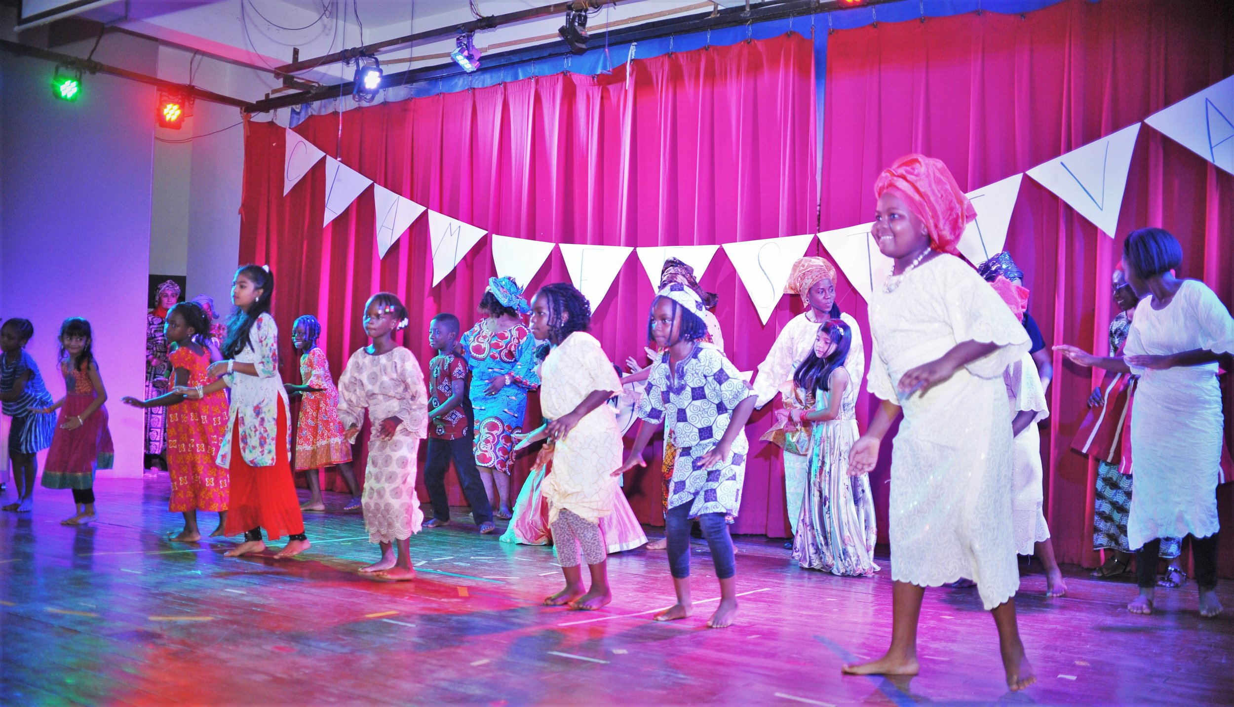 Cultural Dance club mixed it up with Yoruba and Indian dances for all to learn and enjoy!