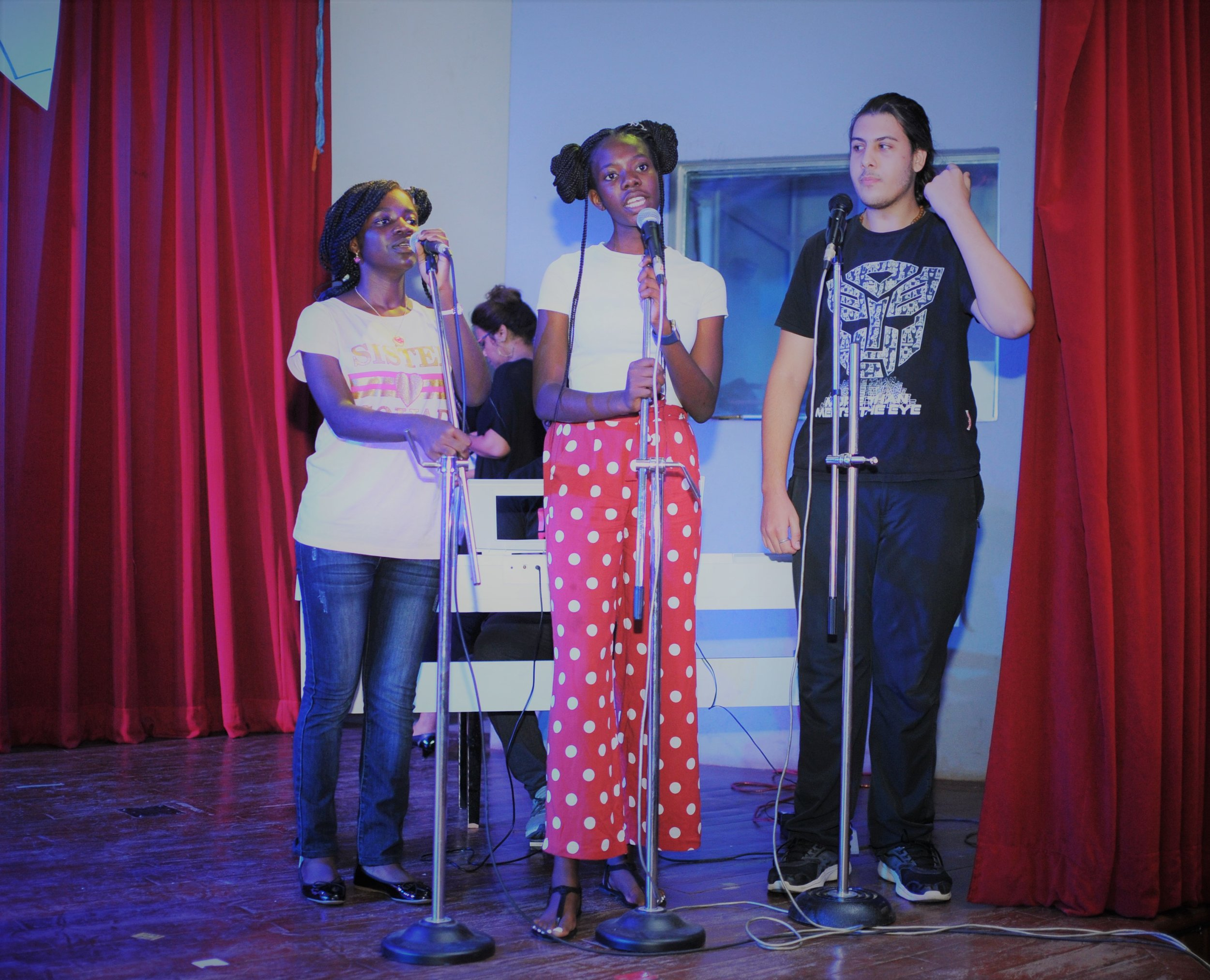 "This award-winning group performed their version of ""Hello"" by Adele."