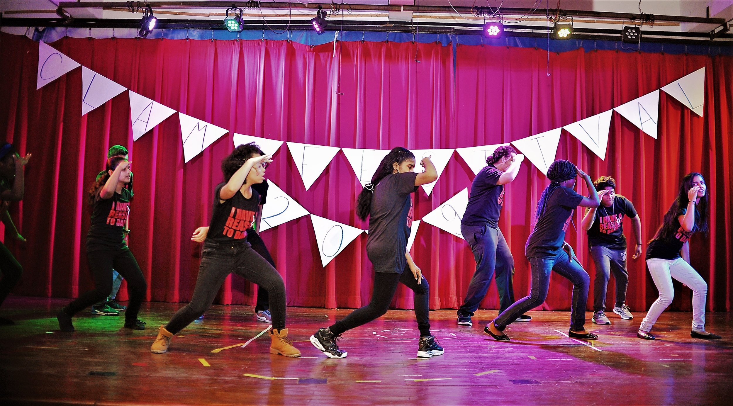 This diverse group of Senior School students joined forces to WOW us with their hip-hop moves!!