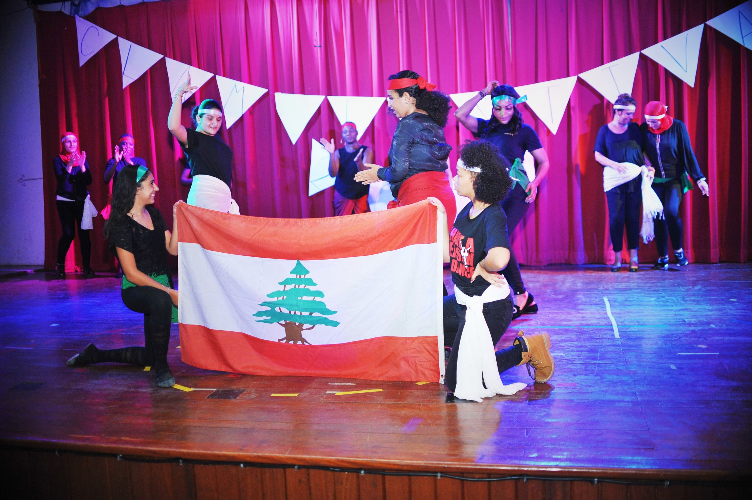 A true celebration of UNITY in DIVERSITY, students, staff, and parents all came together to present a Lebanese dance that had us all laughing and clapping along!