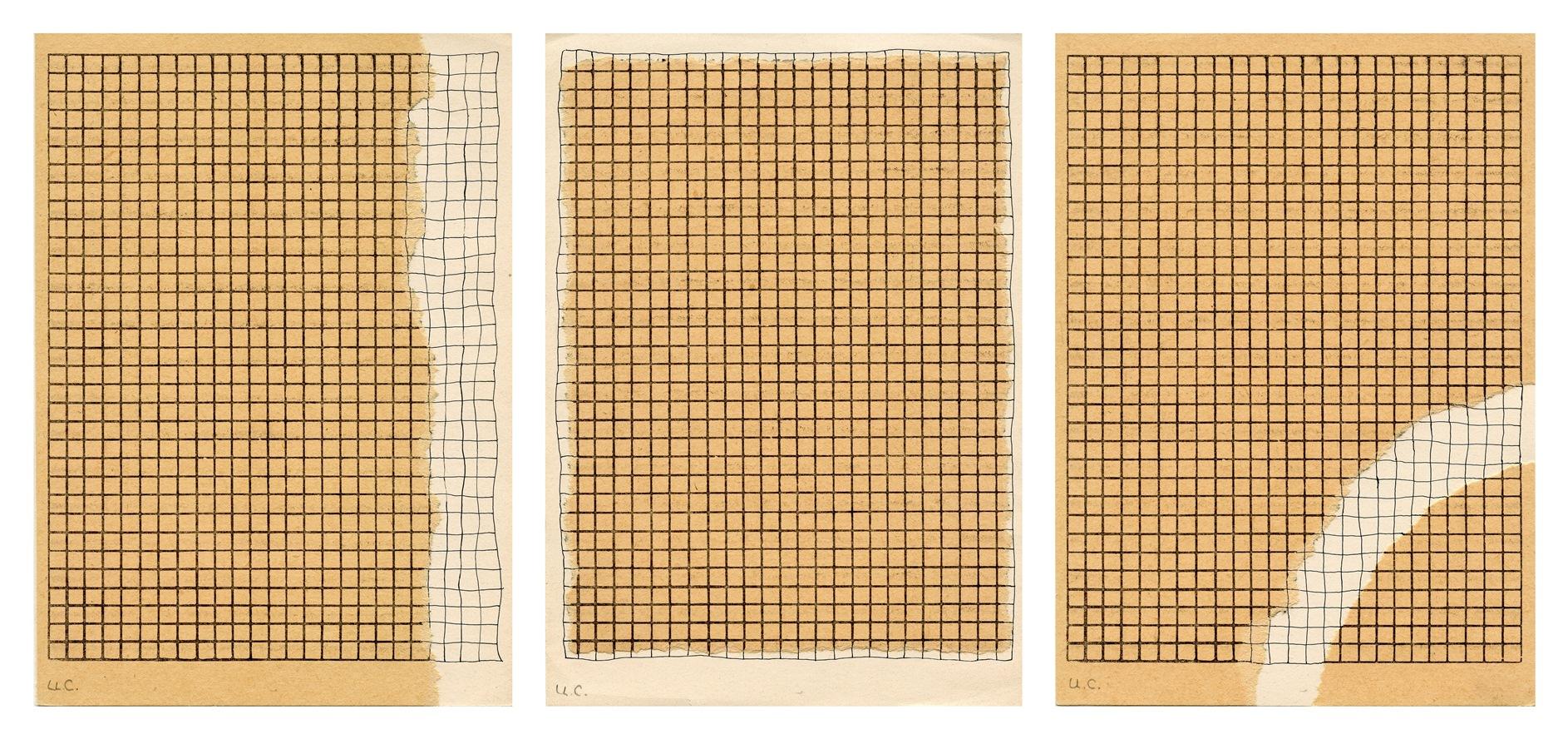 """Ulises Carrión (1941 - 1989), """"Márgenes"""", 1972. Cortesía de Colección Diéresis."""
