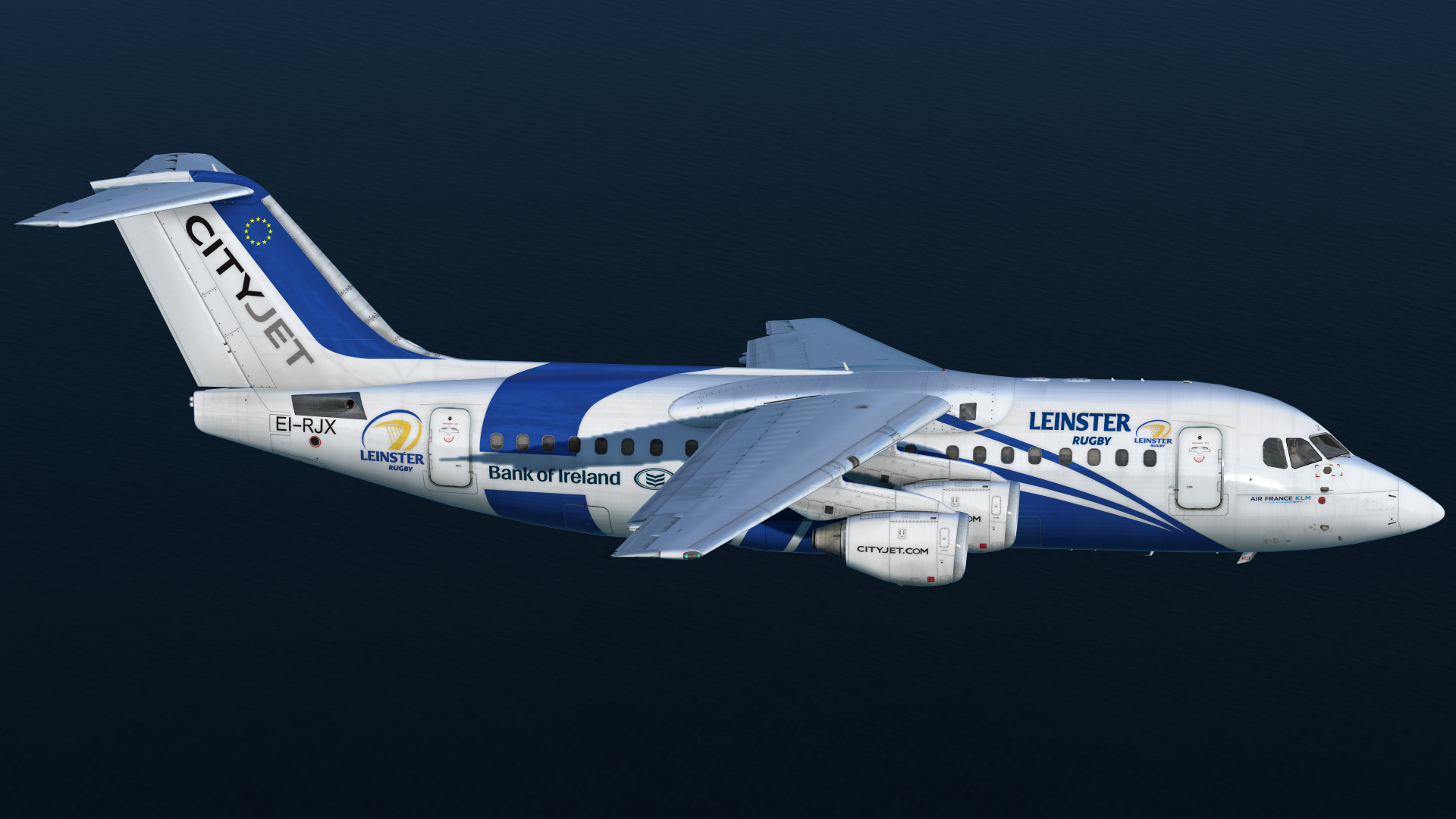 QualityWings Avro/BAe 146 - Click the download button to start downloading the Reflection Profiles for the QualityWings BAe146. The zip file includes profiles for all variants of the Avro and BAe 146.