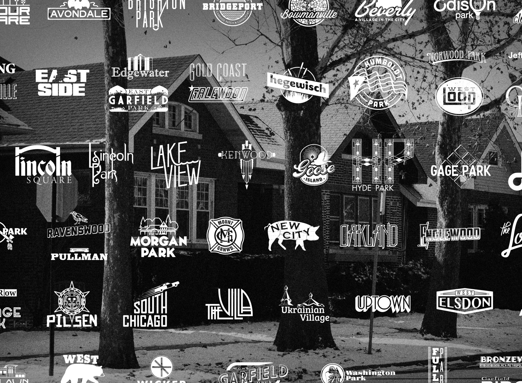 The Neighborhoods - Chicago is composed of 77 official community areas and over 200 unique neighborhoods within these areas. Click below to learn more about the city's various neighborhoods and to view the logos that were created for over 100 of them.
