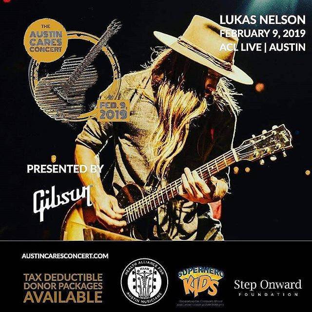 Just released, 40 more seats, go to @acllive to grab them before they're gone.  A few donor packages still available, go to www.austincaresconcert.com to get yours now.  Don't miss @lukasnelsonofficial and @thetexaskgb as we support @myhaam @superherokids and Step Onward Foundation. Live link in bio.  #haam #steponwardfoundation #lukasnelson @love.austintexas #superherokids #acl #aclmoodytheater #acllive #austintexas