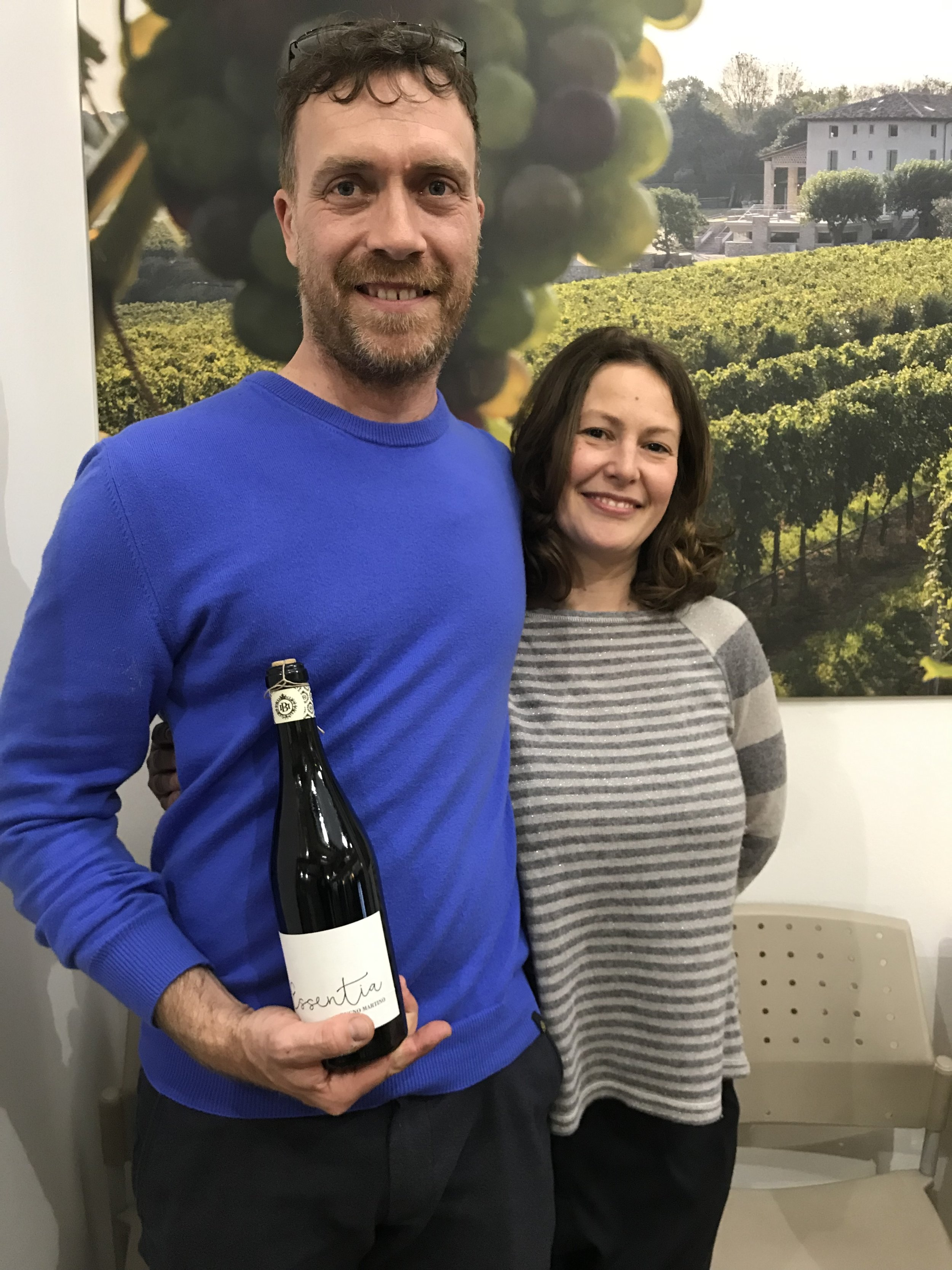 Giuseppe and Raffaella of Bugno Martino make good use of their 30 yr old Lambrusco vineyard to bring us delicious, organic, 'kick-back' Lambruscos.