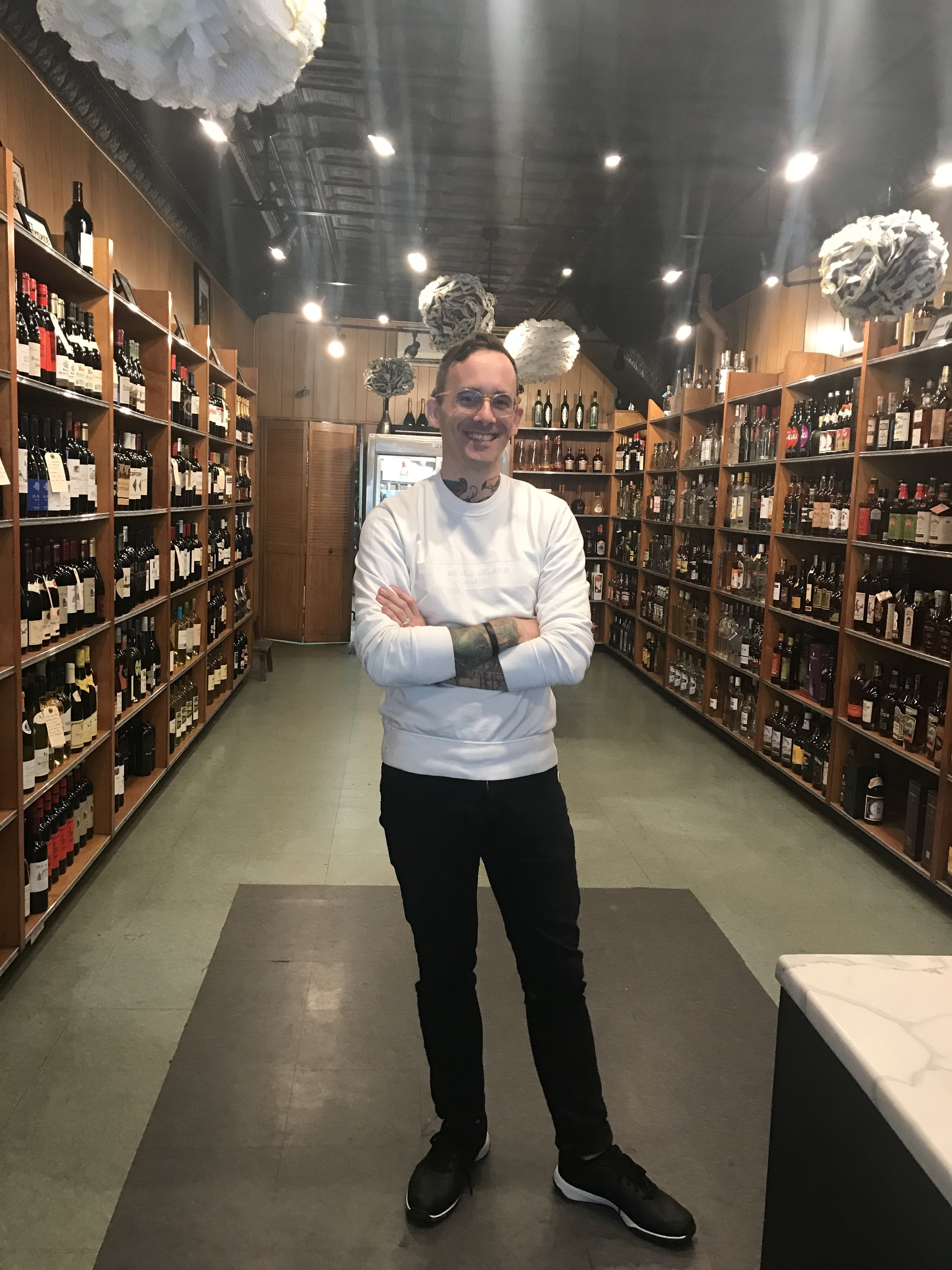 - Brendan has a new wine shop in Brooklyn and is looking for out-of-the-ordinary, small production wines that you can't find anywhere else.