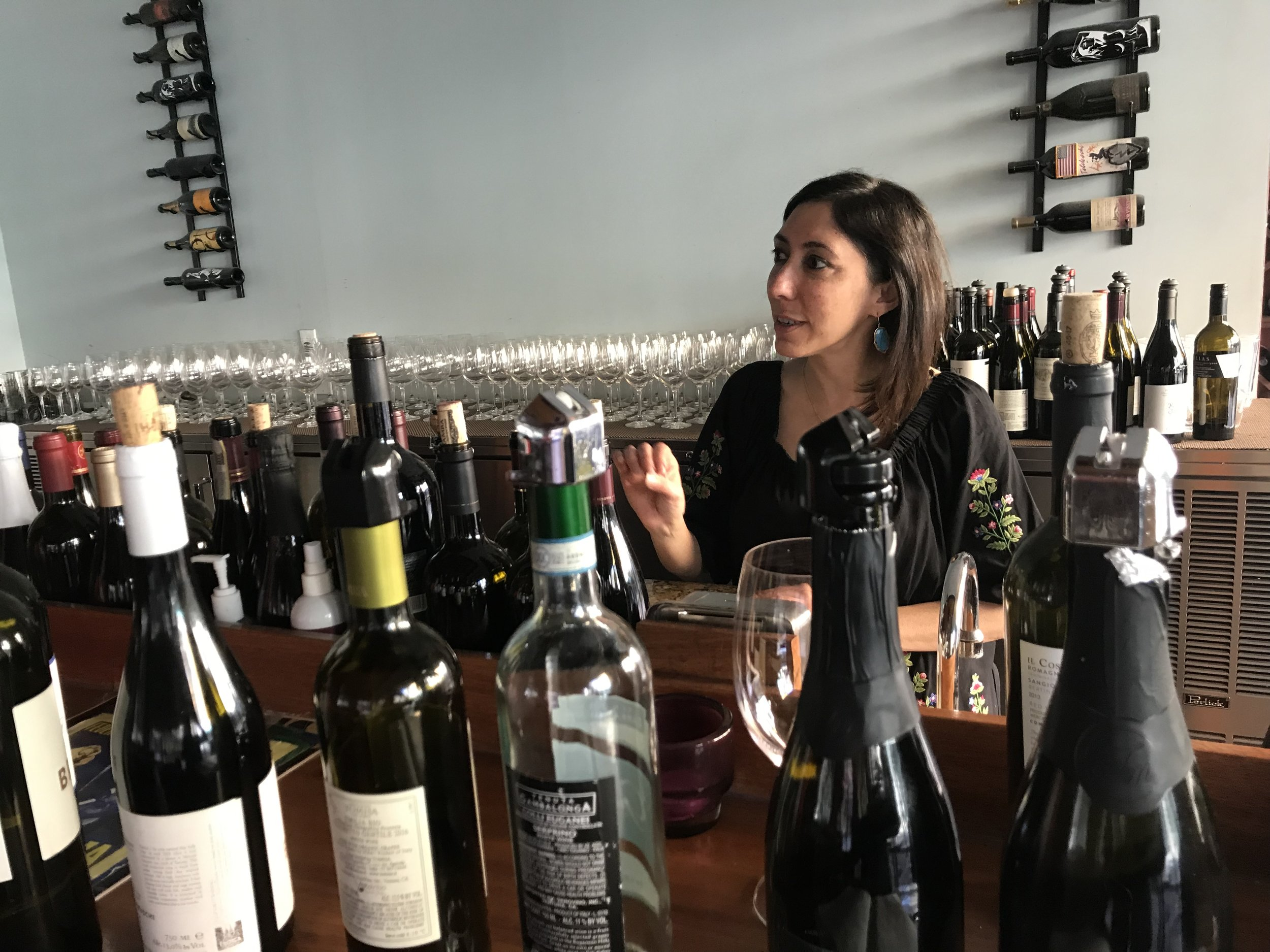 - When Sahar is not out-and-about wine judging, she is scouring for wines which are great tasting but also a bit unique for her wine enthusiast clientele.