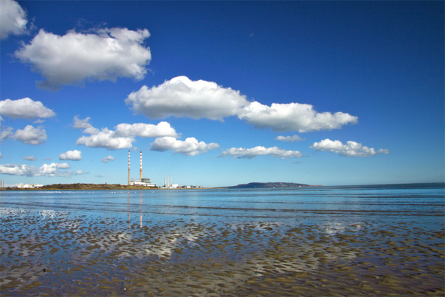 Big blue sky over Sandymount Strand.jpg