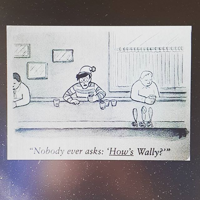 Wally needs more from people.