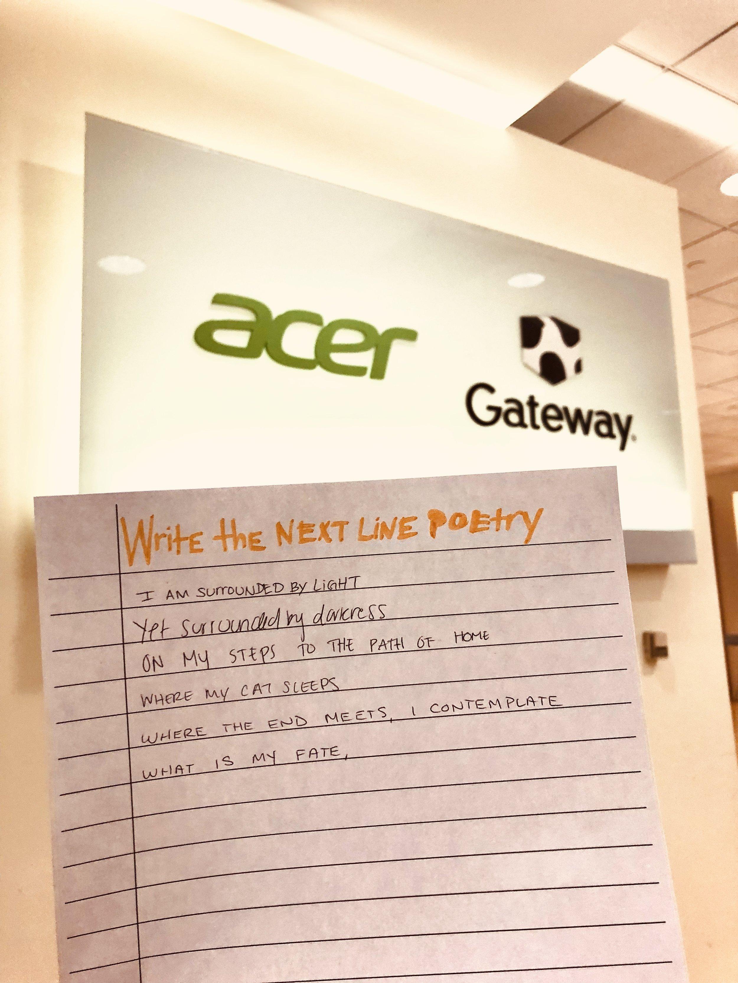 AcerxDMCStudio Poetry