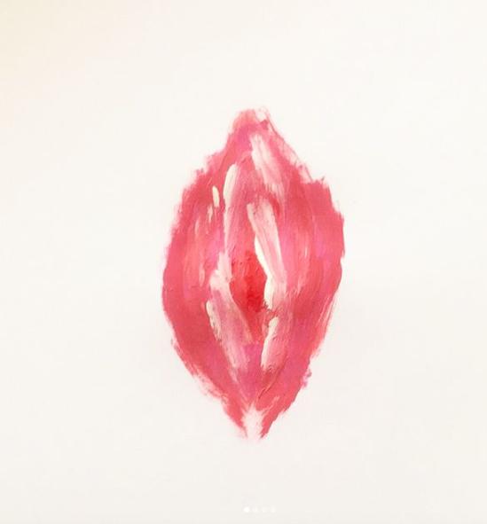 vulva ilustracion