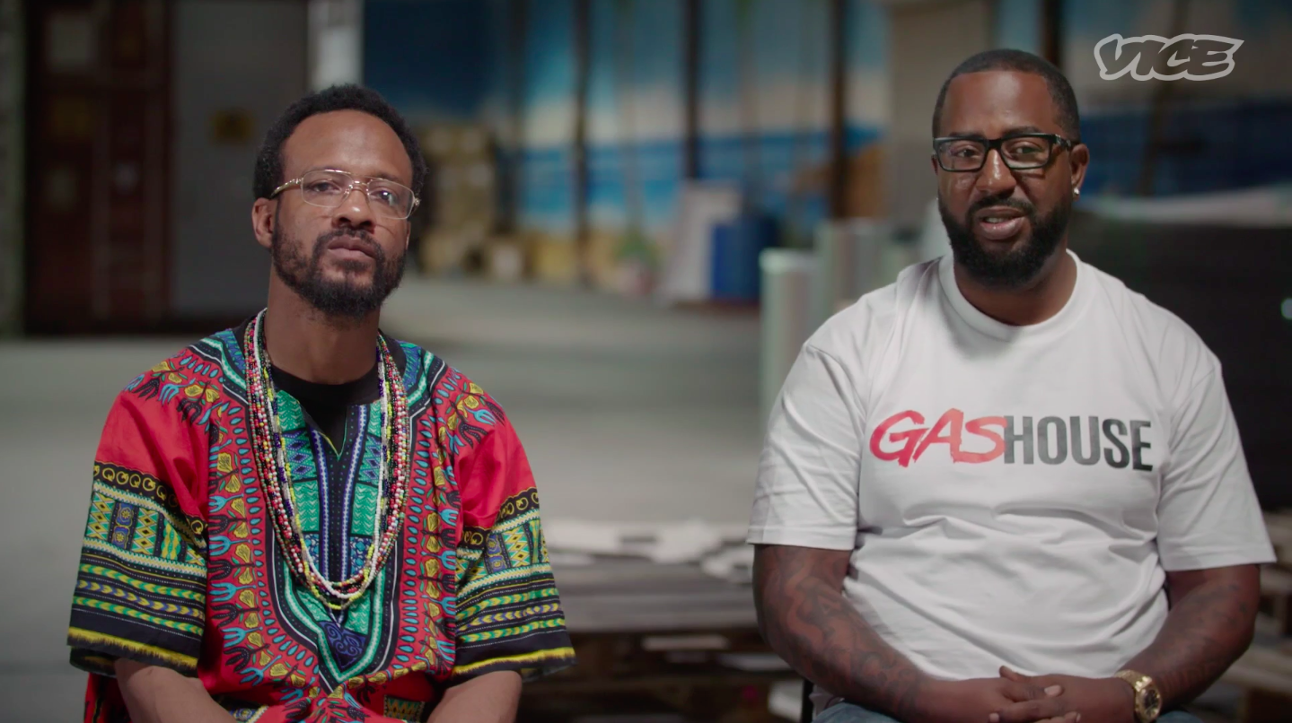 Photo Credit: Co-owners of Gas House / Vice.com / The Black Entrepreneurs Revolutionizing the Legal Weed Industry