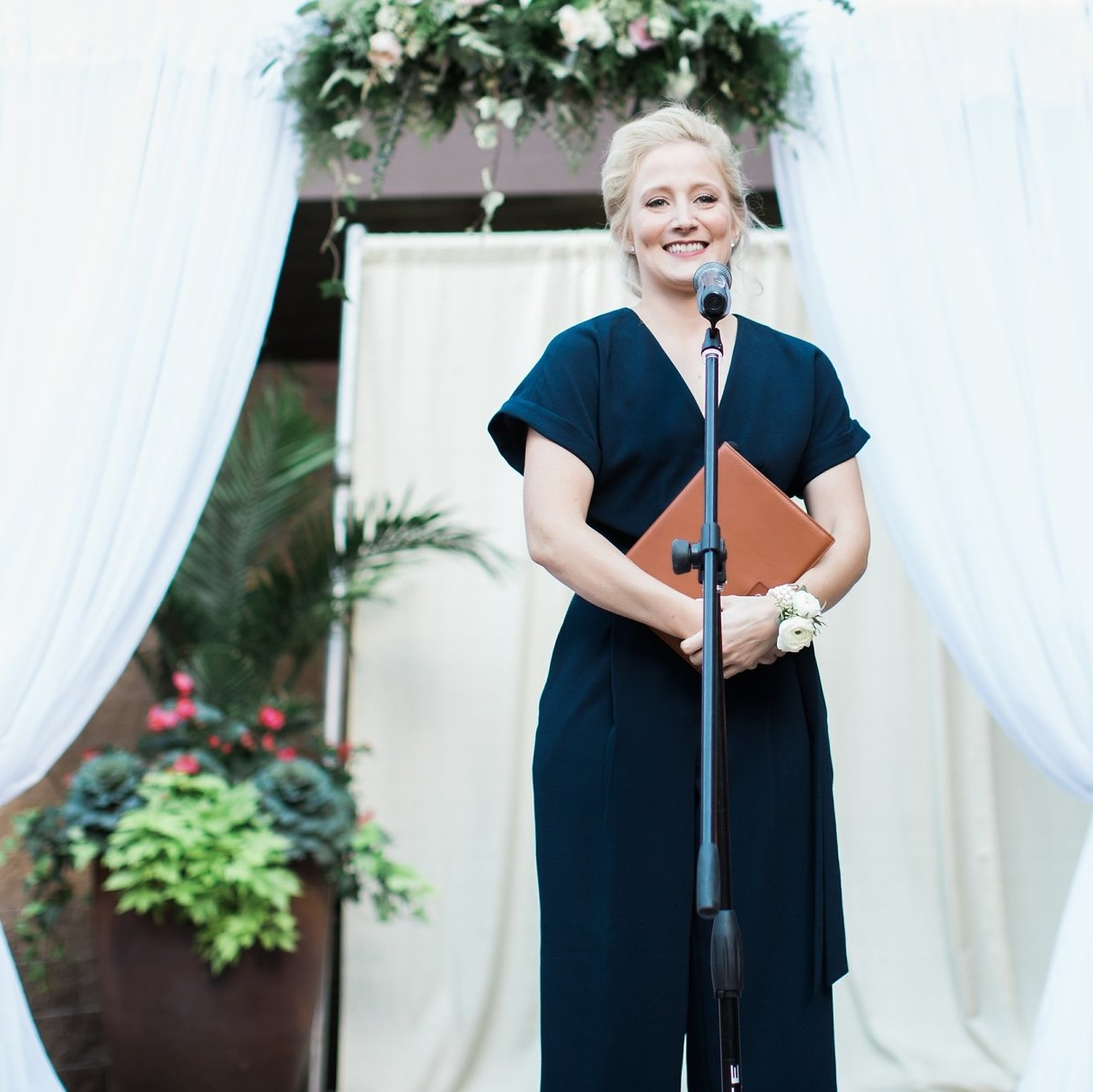 Secular Wedding Officiant - Personalized ceremony development including consultation on vows, readings, music and legal requirements