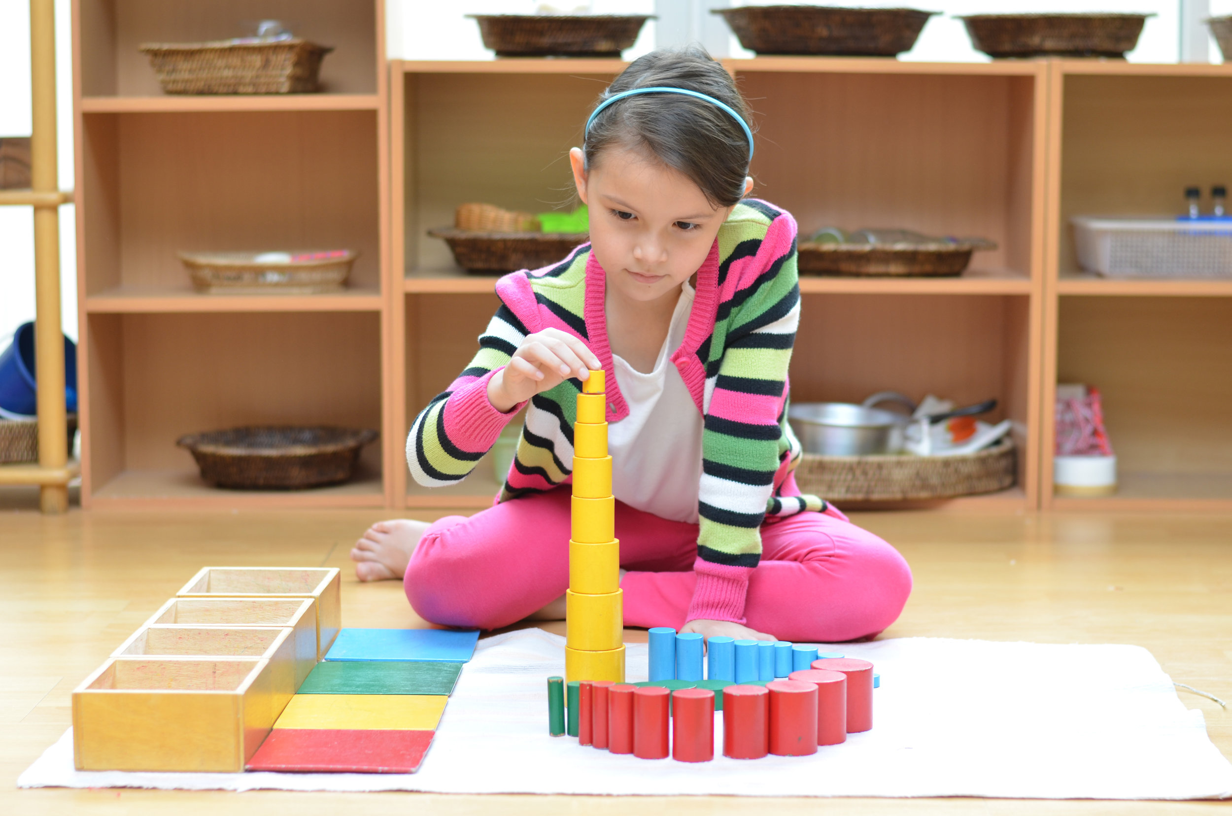 Montessori manipulatives