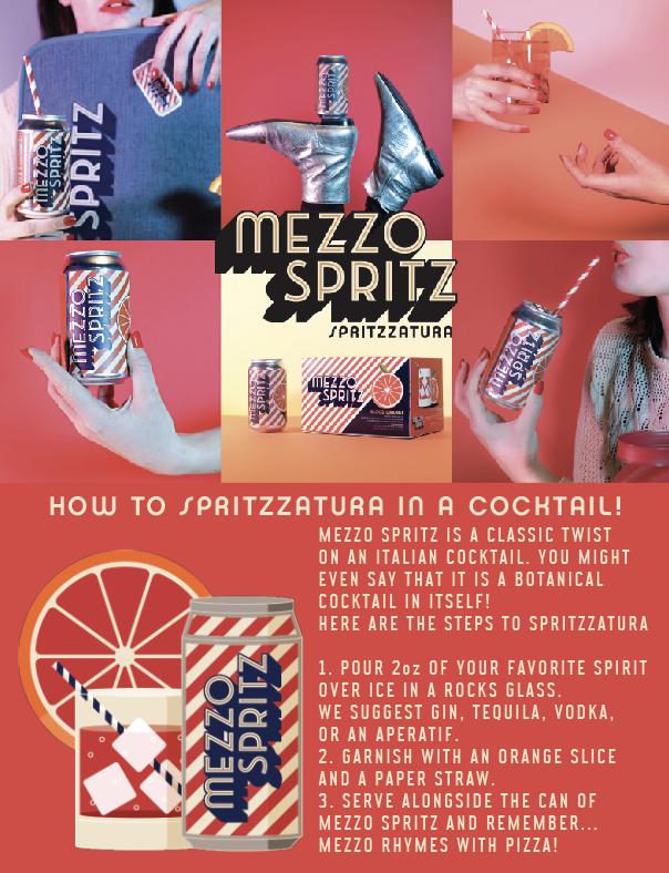 MEZZO COCKTAIL SPRITZZATURA #3