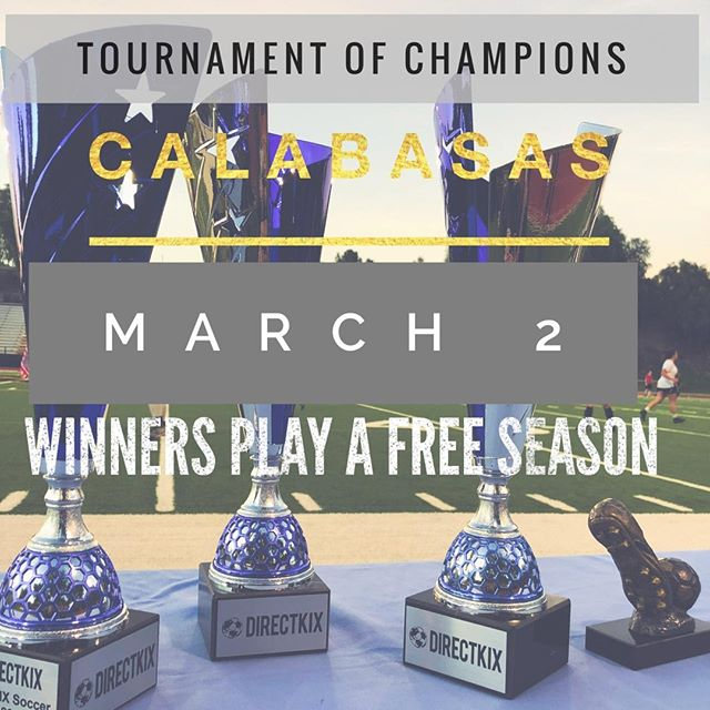 Play for FREE. Tournament and Seasons Kicking Off!