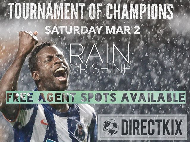 The rain is coming and we love every dam drop. While most of LA will stay indoors, 🌧 we will be embracing the beautiful game ⚽️in every which way. Few spots still available! . . . #championsleague #feellikeapro #foreveryoung #nofear