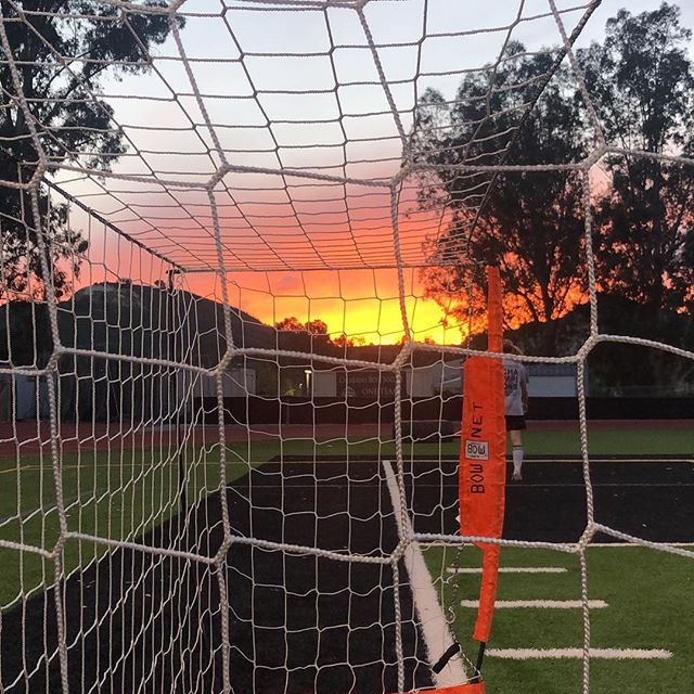 What came first? The sun or the goal? Hopefully this week is clearer  than the question. Happy Monday all! . . . #lasoccer #morethanaleague #losangeles #soccerbible #directkix #soccerlife #calabasas #6v6