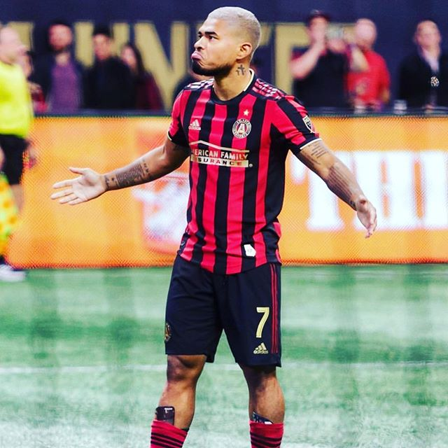 That look when you know you got it⚽️. MLS is back at it full swing!!! . . . . #mls #directkix #atlantaunited #lasoccer #playlikeapro #instasoccer #soccerlife #6v6 #soccerleague