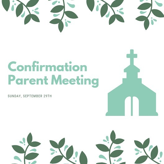 Confirmation Parent Meeting! There will be a Confirmation Class Parent Meeting on September 29 in the Fellowship Hall immediately following Sunday service. This is for parents of students in 8th grade, or older students who have not yet been confirmed in the United Methodist Church. The meeting will include a review of the confirmation schedule for 2019-2020. For more details, please contact Erich Wills (erich@haygoodumc.org). #Haygood #HaygoodUMC