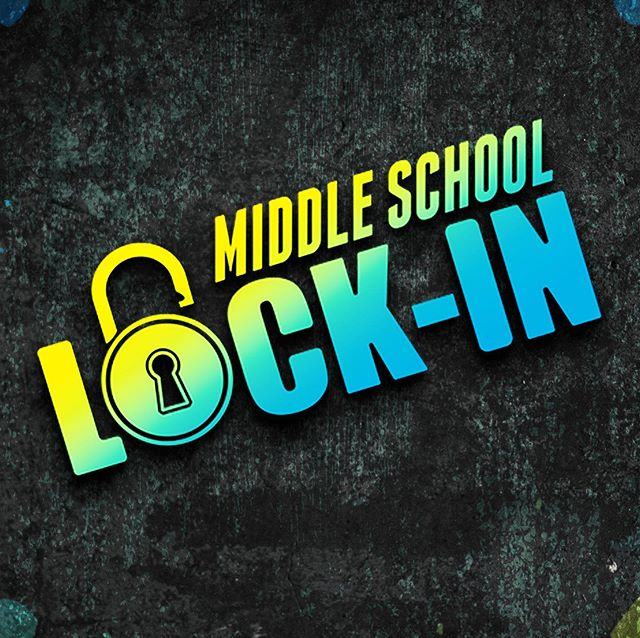 Our anticipated Middle School Lockin is this Friday, Nov 8th. We're excited about all the fun games we'll have planned.  We'll all meet at the church at 5pm, and make sure each child has $20 for food, and we'll have pick-up Saturday morning at 8am. #LockIn