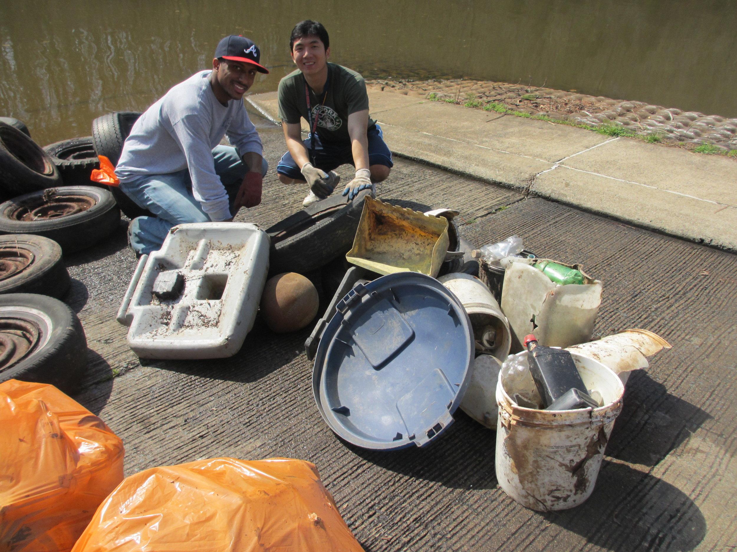 Trash Art on Mar. 17, 2012