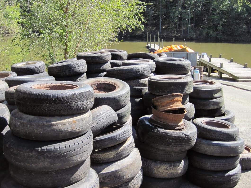 Tire pile NC Big Sweep unknown date.JPG