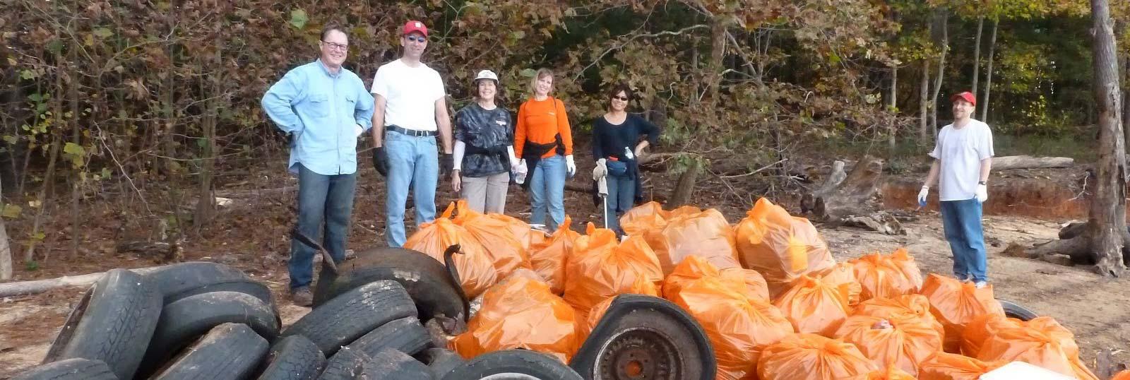 Clean Jordan Lake events -