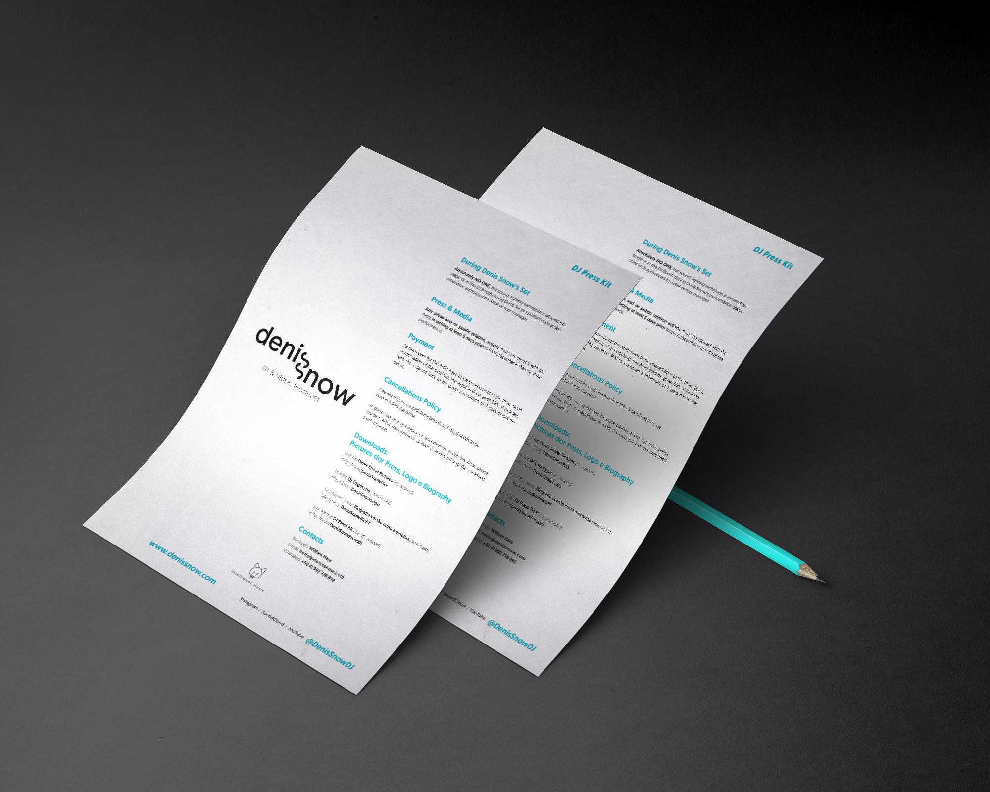 Print Press Kit - .PDF READY FOR PRINT