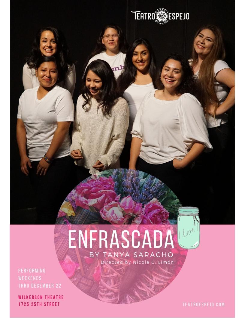 """The cast of """"Enfrascada."""""""