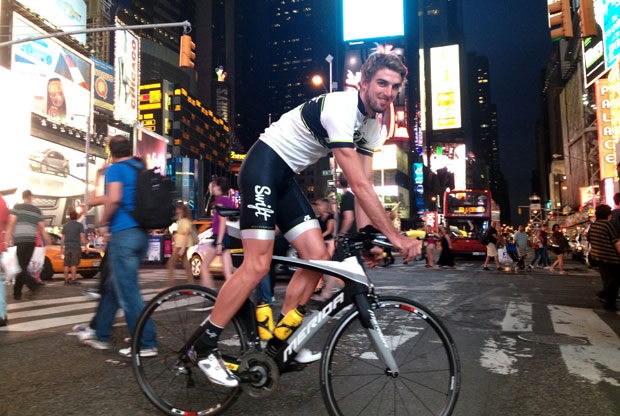 Interview with young triathlete Sam Douglas