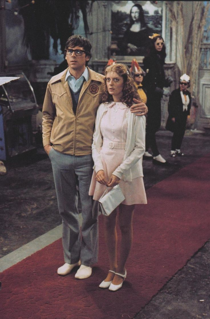 Brad Majors and Janet Weiss, two of the main characters in 'Rocky Horror'