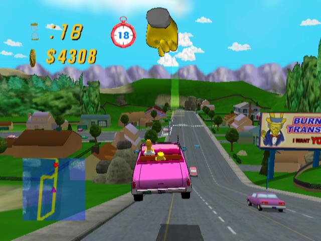 """Just call him """"Air Homer!"""" Source: quizzley7 via  MobyGames.com"""