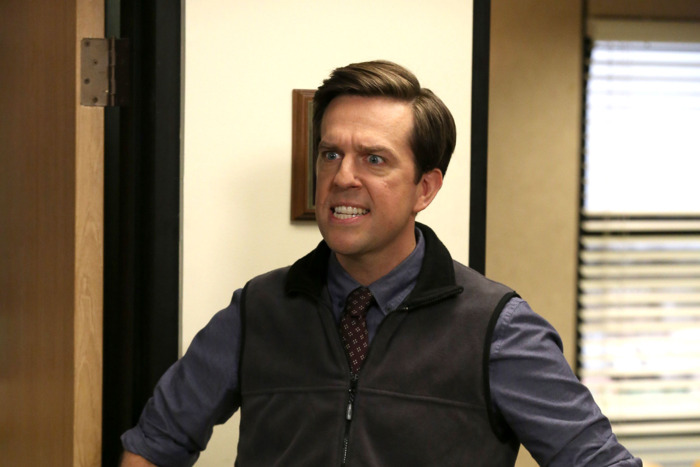 Andy Bernard in the episode 'Andy's Ancestry'. Image via  Vulture