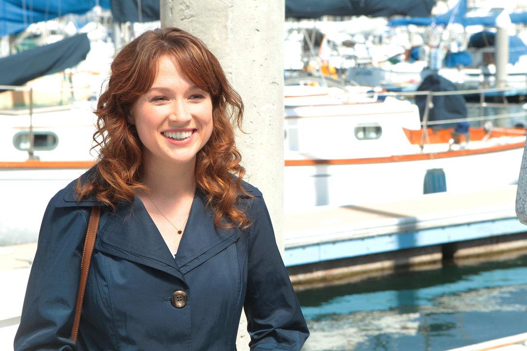 Erin Hannon in the episode 'The Boat'. Image via  IMDB
