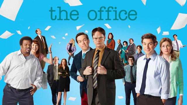 The Office Season 9 cast photo. Image via  Caltimes