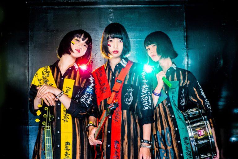 Japanese Punk band Mutant Monster. Image via the  Camden Rocks  website