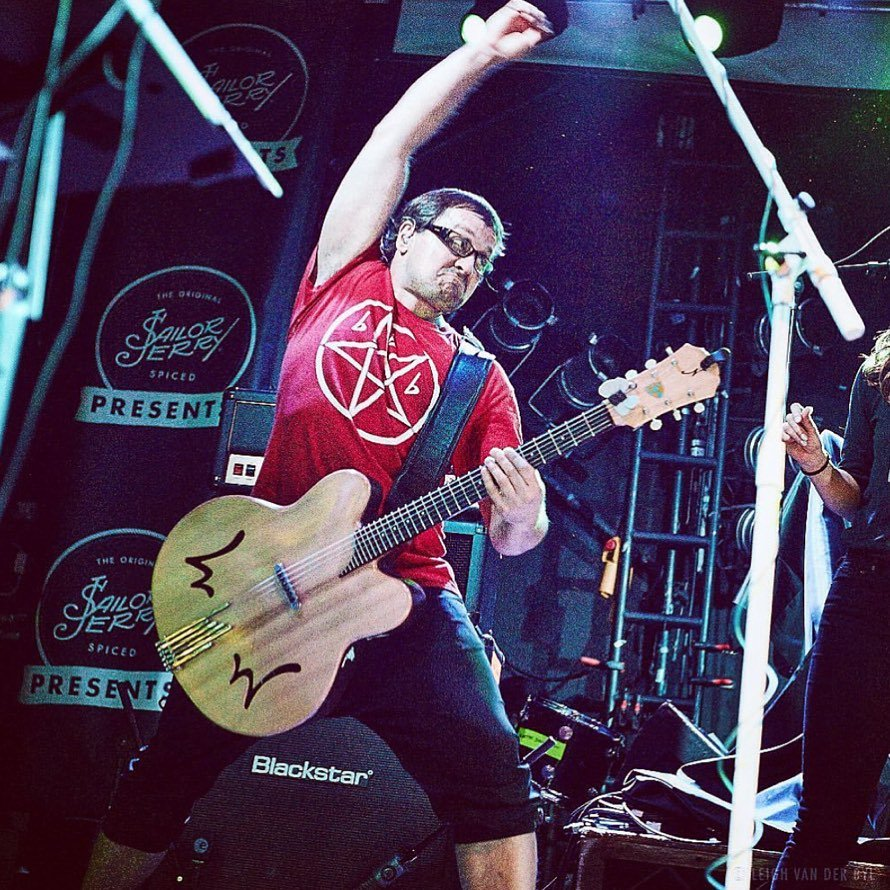Wheatus Frontman Brendan B. Brown. Photo via Leigh Van Der Byl, whose website can be found  here . Or her instagram can be found  here