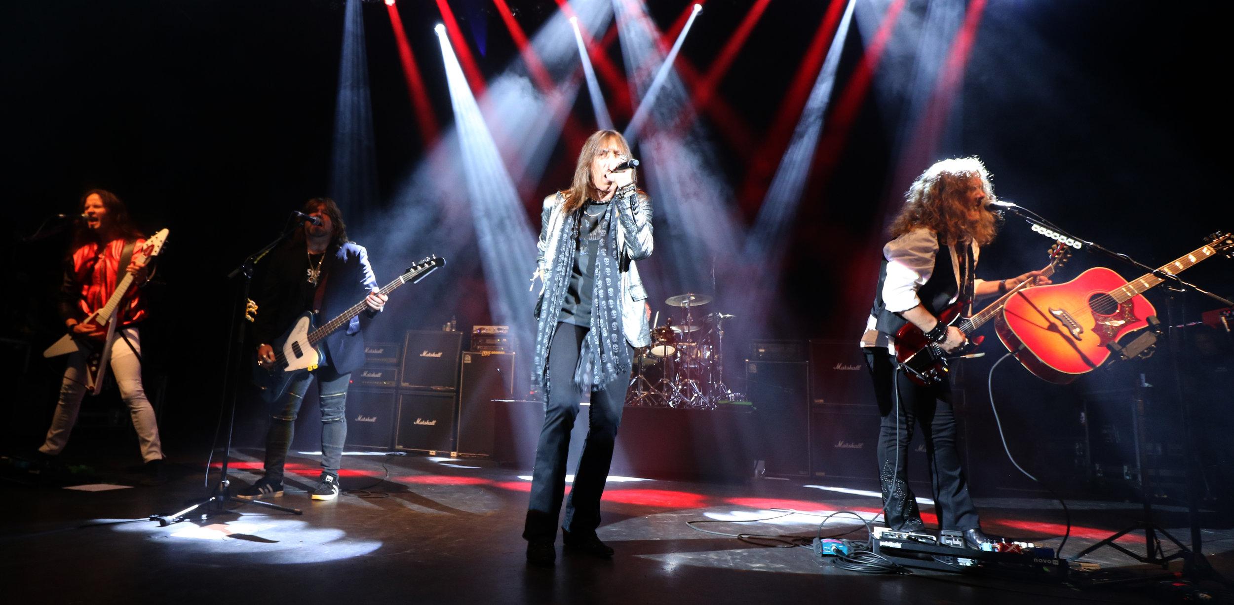 Telsa in their Hard Rock might. Source: Ksana Bartlett