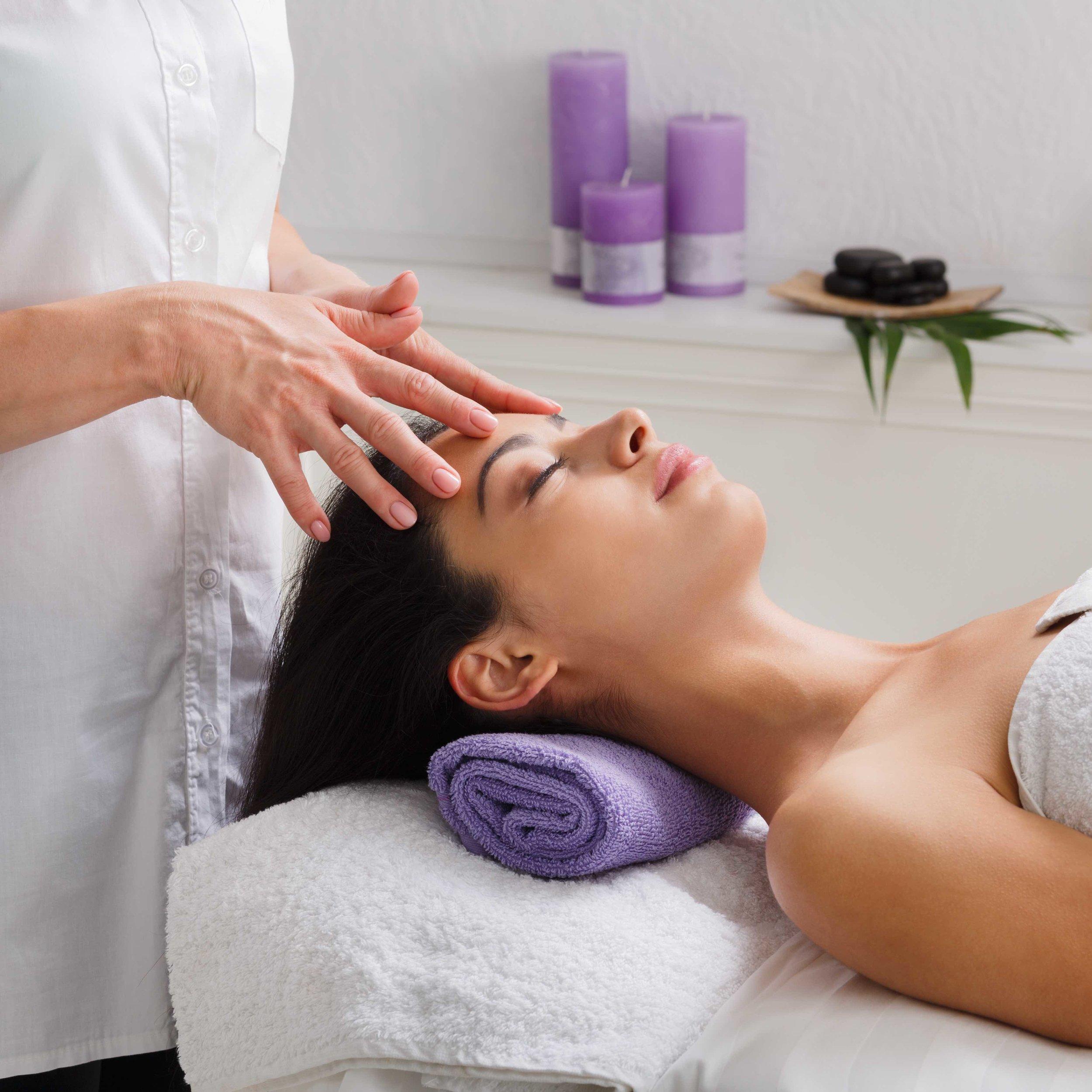 Indian Head Massage -