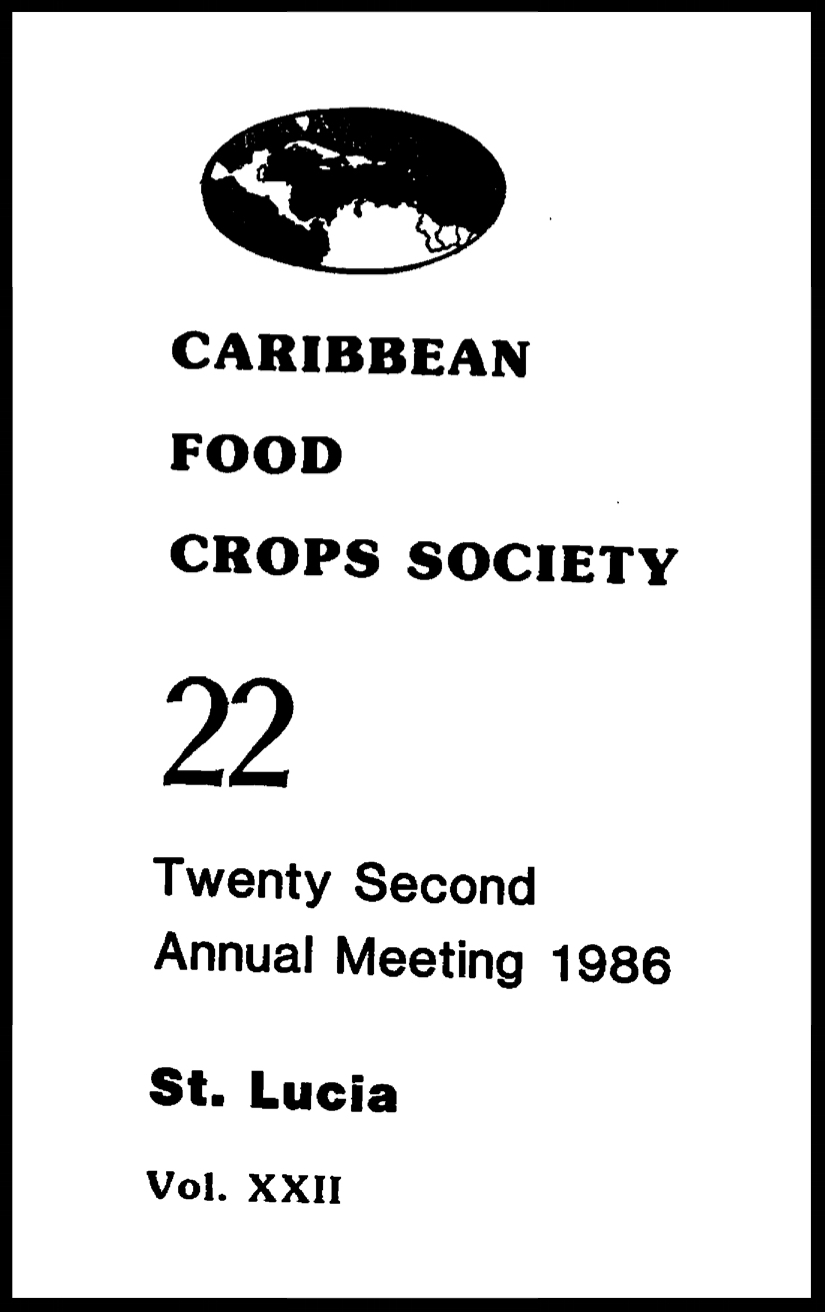 1986, Vol. 22, Castries, LC