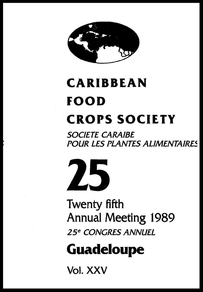 1989, Vol. 25, Le Gosier, GP