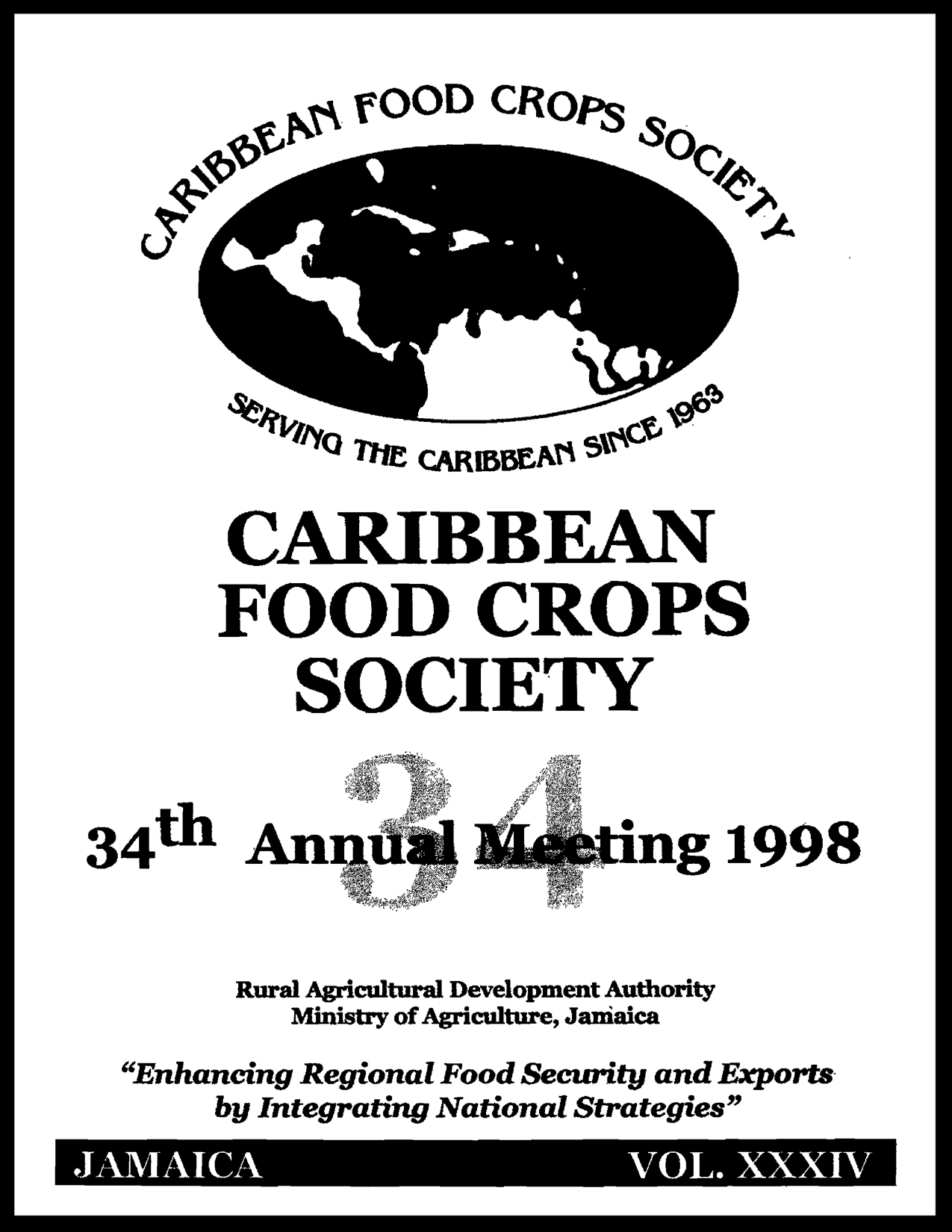 1998, Vol. 34, Jamaica, JM