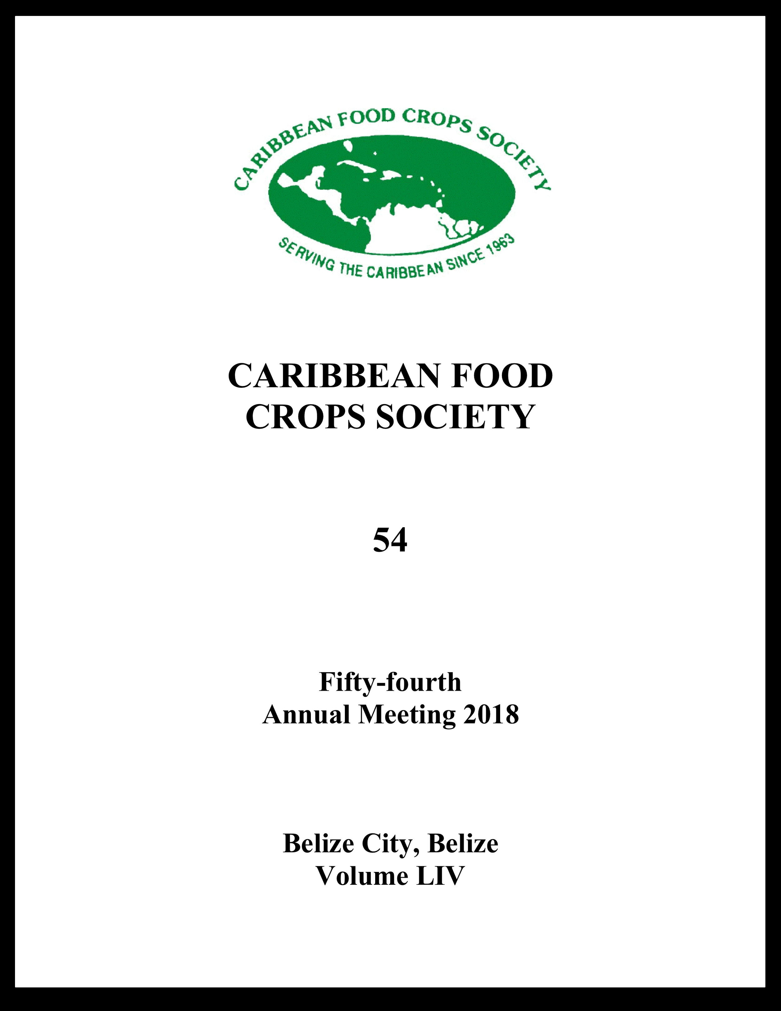 2018, Vol. 54, Belize, BZ