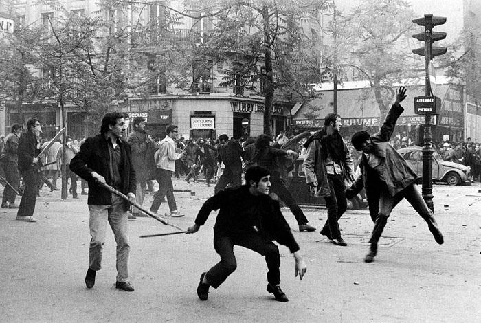 May 1968, Paris. Photo: Bruno Barbey