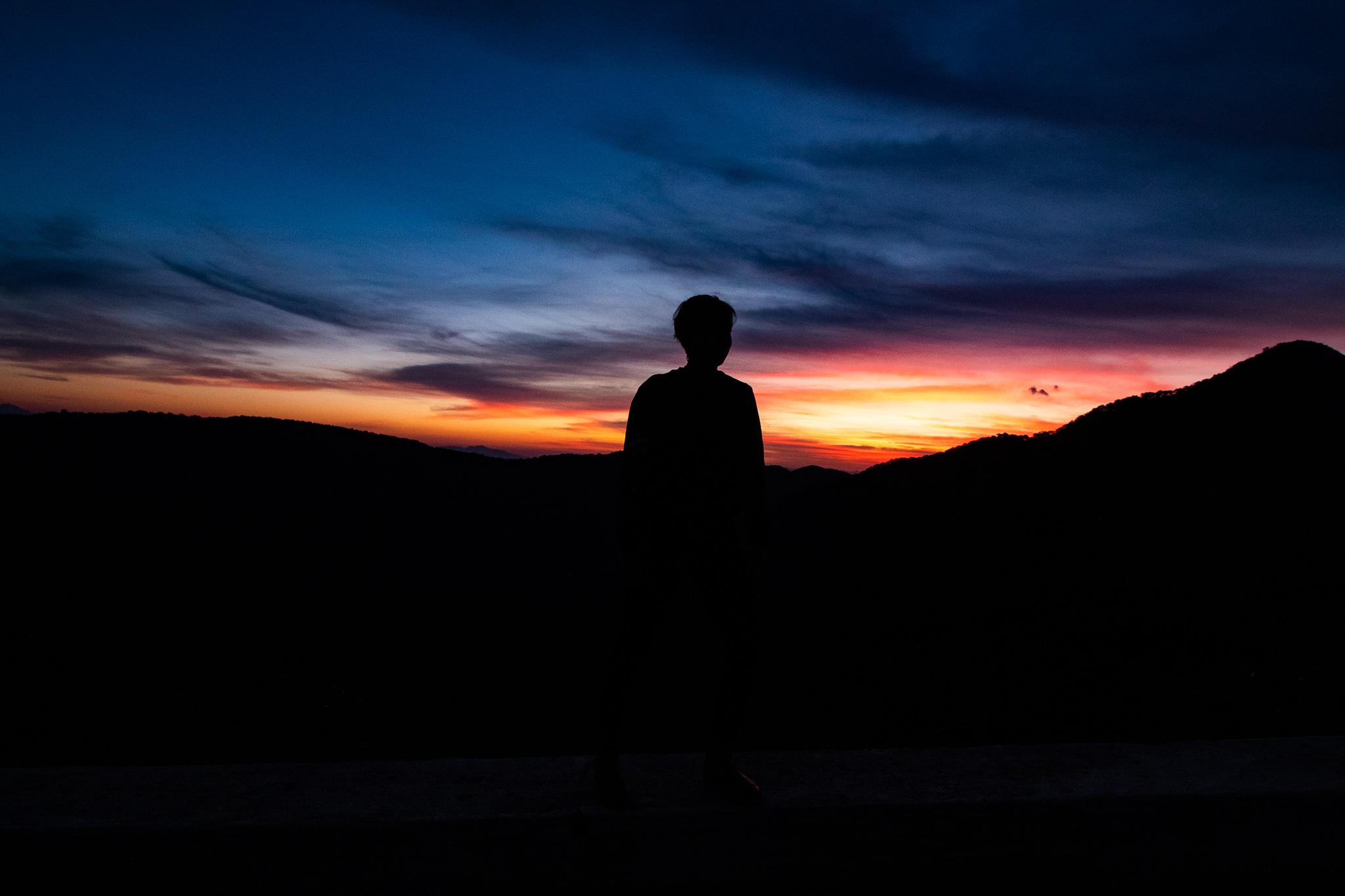 Sunrise in the Sierra Gorda
