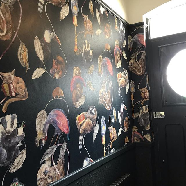 #houseofhackney #houseofhackneywallpaper #leighonsea