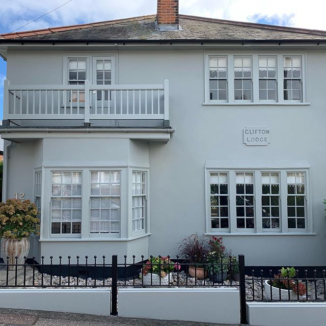 Just finished this beautiful house in Leigh. Stripped back and restored all sashes. Swipe for before and after pics! #sashrestoring #leighonsea #leighbusiness